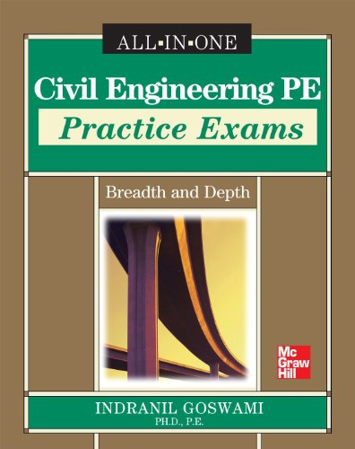 9780071777117: Civil Engineering PE Practice Exams: Breadth and Depth (All in One)