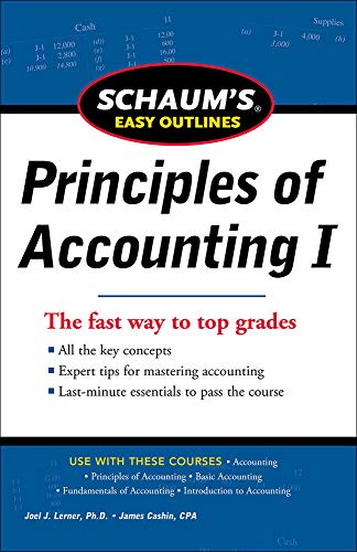 9780071777520: SCHAUM'S EASY OUTLINE OF PRINCIPLES OF ACCOUNTING (Schaum's Easy Outlines)