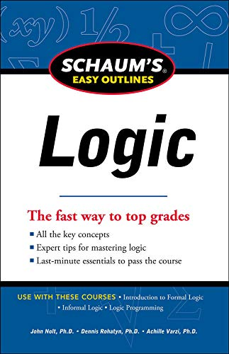 9780071777537: Schaum's Easy Outline of Logic, Revised Edition (Schaum's Easy Outlines)