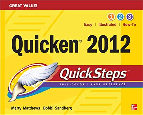 9780071778244: Quicken 2012 QuickSteps