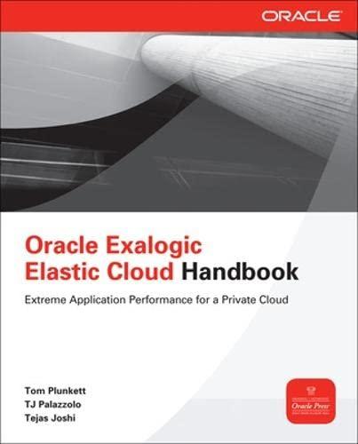 9780071778282: Oracle Exalogic Elastic Cloud Handbook (Oracle Press)