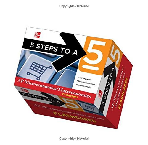 9780071778329: 5 Steps to a 5 AP Microeconomics/Macroeconomics Flashcards (5 Steps to a 5 on the Advanced Placement Examinations Series)