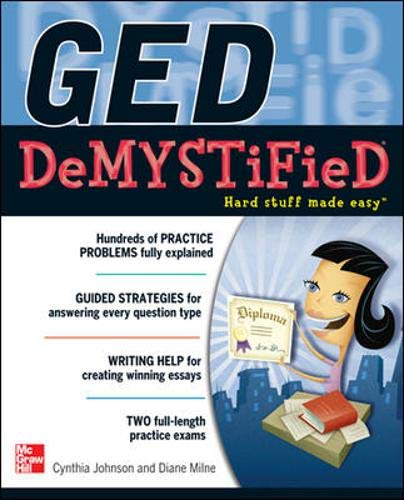 9780071778374: GED DeMYSTiFieD