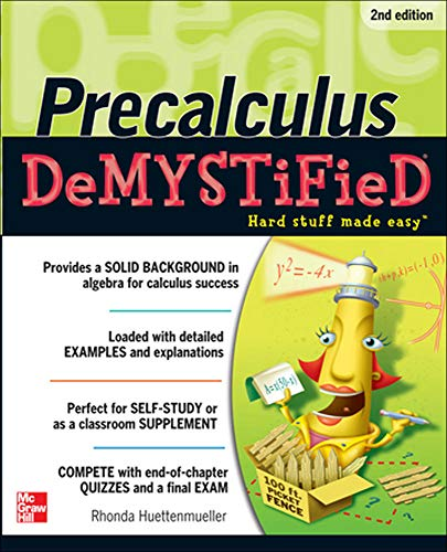 9780071778497: Pre-calculus Demystified, Second Edition