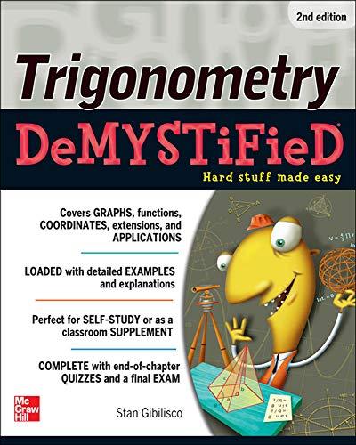 9780071780247: Trigonometry Demystified 2/E