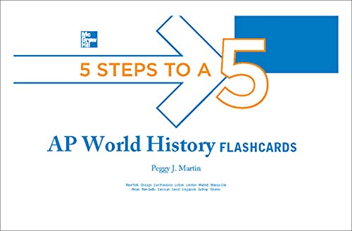 9780071780643: 5 Steps to a 5 AP World History Flashcards (5 Steps to a 5 on the Advanced Placement Examinations Series)