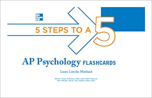 9780071780667: 5 Steps to a 5 AP Psychology Flashcards (5 Steps to a 5 on the Advanced Placement Examinations Series)
