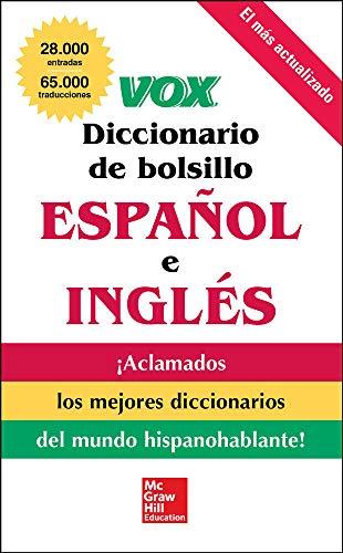 9780071780865: VOX Diccionario de bolsillo español y inglés
