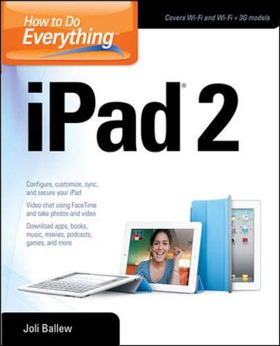 9780071780919: How to Do Everything iPad 2