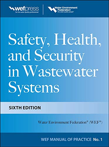 9780071780933: Safety Health and Security in Wastewater Systems, Sixth Edition, MOP 1 (Wef Manual of Practice)