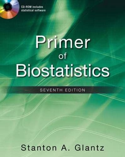 9780071781503: Primer of biostatistics. Con CD-ROM (Medicina)