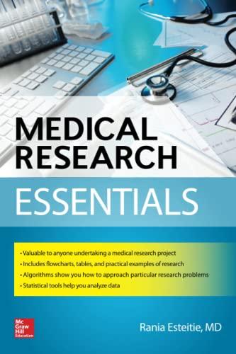 9780071781640: Medical Research Essentials (A & L Review)