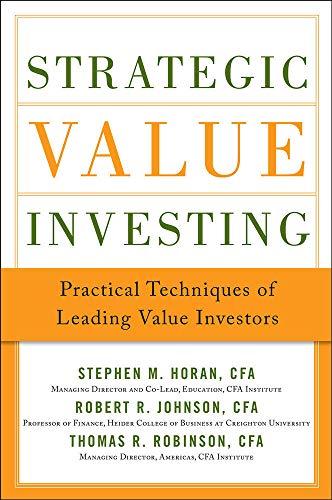 9780071781664: Strategic Value Investing: Practical Techniques of Leading Value Investors