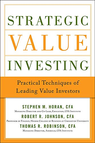 9780071781664: Strategic Value Investing: Practical Techniques of Leading Value Investors (General Finance & Investing)