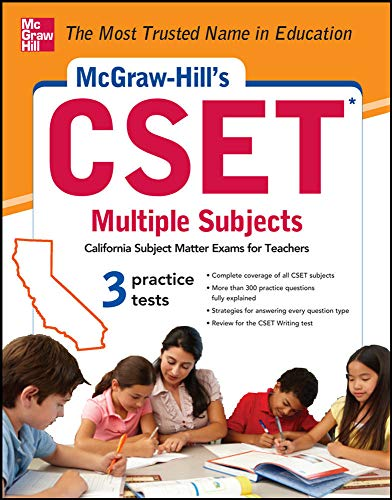 9780071781756: McGraw-Hill's CSET Multiple Subjects: Strategies + 3 Practice Tests