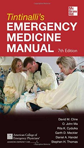9780071781848: Tintinalli's Emergency Medicine Manual 7/E (Emergency Medicine (Tintinalli))