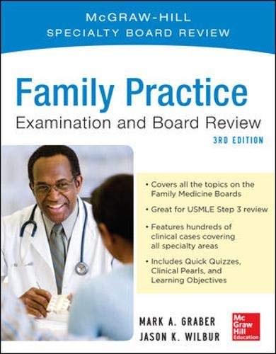 9780071781855: Family Practice Examination and Board Review, Third Edition
