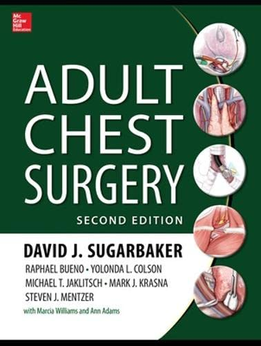 9780071781893: Adult Chest Surgery, 2nd edition (Medical/Denistry)