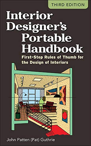 9780071782067: Interior Designer's Portable Handbook: First-Step Rules of Thumb for the Design of Interiors (McGraw-Hill Portable Handbook)