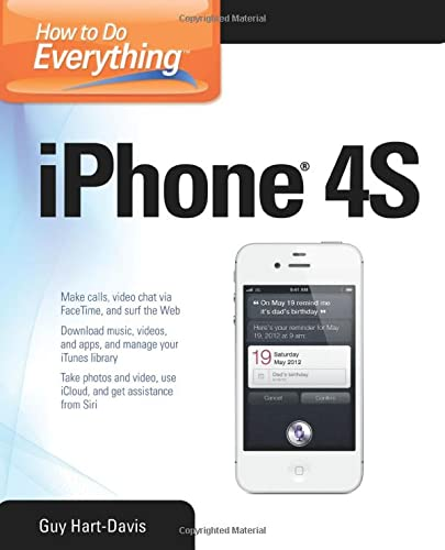 9780071783071: How to Do Everything iPhone 4S