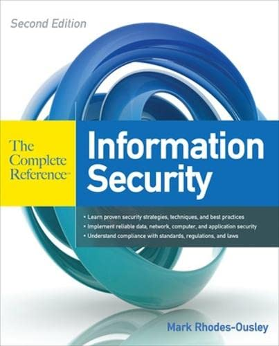 9780071784351: Information Security
