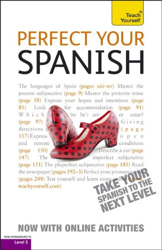 9780071784566: Perfect Your Spanish with Two Audio CDs: A Teach Yourself Guide (Teach Yourself Language)