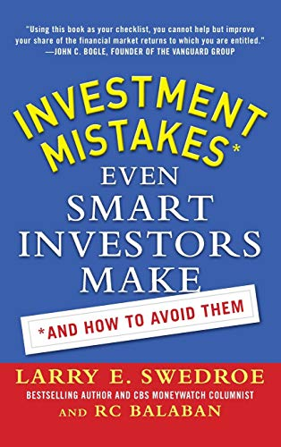 9780071786829: Investment Mistakes Even Smart Investors Make and How to Avoid Them (Business Books)