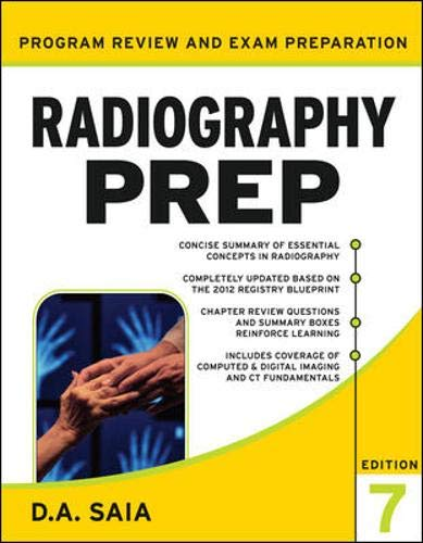 9780071787048: Radiography PREP Program Review and Exam Preparation, Seventh Edition