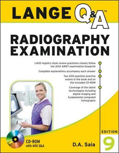 9780071787215: Lange Q&A Radiography Examination, Ninth Edition (Lange Q&A Series (formerly Appleton and Lange's Review Series)