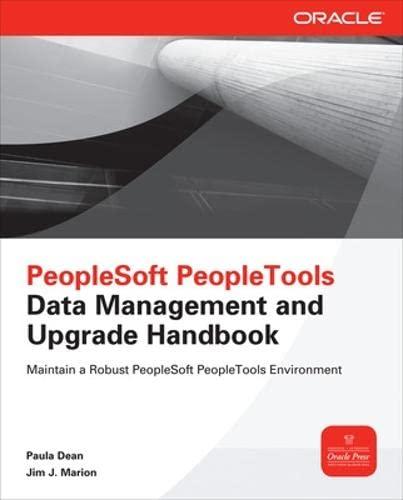 9780071787925: PeopleSoft PeopleTools Data Management and Upgrade Handbook (Oracle Press)