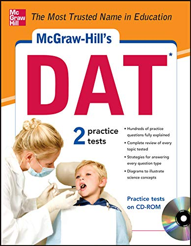 9780071787970: McGraw-Hill's DAT with CD-ROM (Mcgraw-Hill Test Prep)
