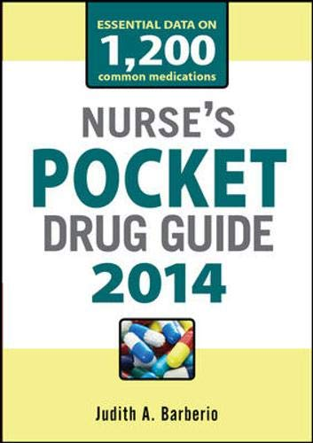 9780071788205: Nurses Pocket Drug Guide 2014
