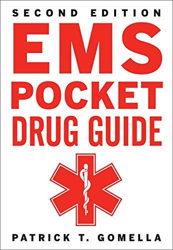 9780071788274: EMS Pocket Drug Guide 2/E