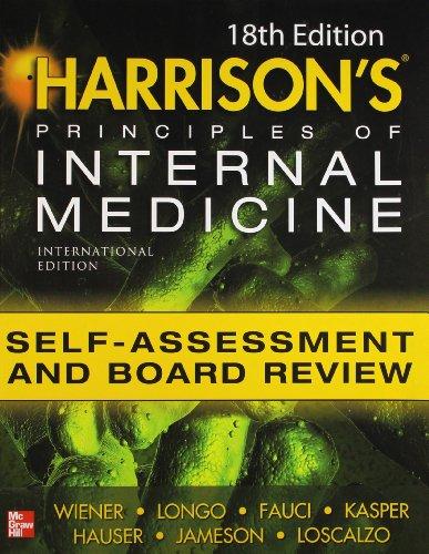 9780071788472: Harrisons Principles of Internal Medicine Self-Ass/Rev 18E