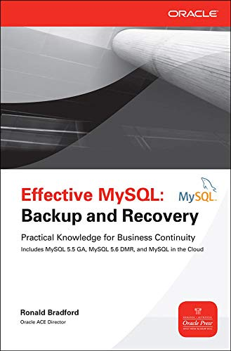 9780071788571: Effective MySQL: Backup and Recover