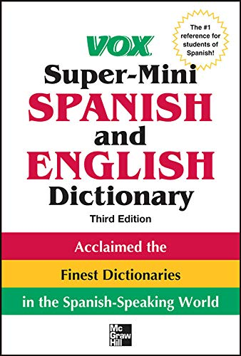 9780071788663: Vox Super-Mini Spanish and English Dictionary, 3rd Edition (Vox Dictionary)