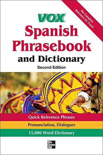 9780071788670: Vox Spanish Phrasebook and Dictionary, 2nd Edition (Vox Dictionaries)