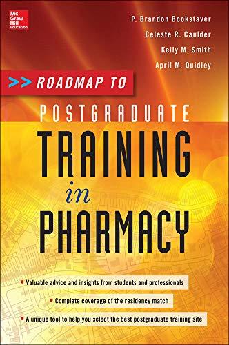 9780071788755: Roadmap to Postgraduate Training in Pharmacy