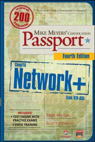 9780071789059: Mike Meyers' CompTIA Network+ Certification Passport, 4th Edition (Exam N10-005) (Comptia Authorized)