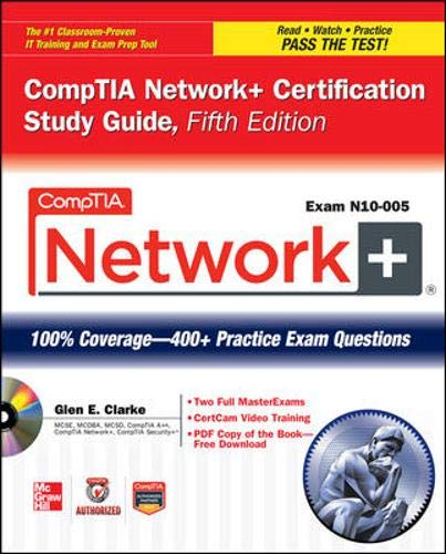 9780071789158: CompTIA Network+ Certification Study Guide, 5th Edition (Exam N10-005) (Comptia Authorized)