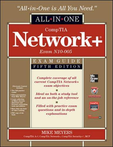 9780071789226: CompTIA Network+ Certification All-in-One Exam Guide, 5th Edition (Exam N10-005)