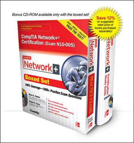 9780071789387: Comptia Network+ Certification Boxed Set Exam N10-005: Includes Bonus Cd-rom (Certification Press)