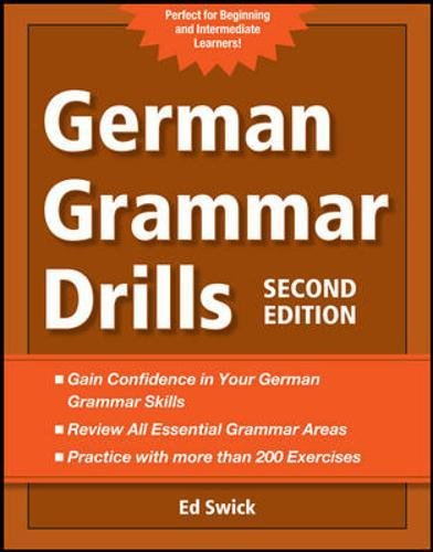 9780071789455: German Grammar Drills