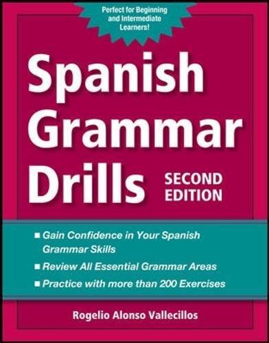 9780071789479: Spanish Grammar Drills