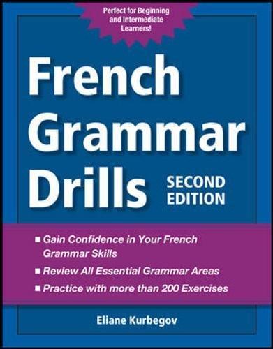 9780071789493: French Grammar Drills