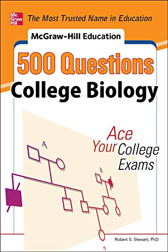 9780071789592: McGraw-Hill Education 500 College Biology Questions: Ace Your College Exams (500 Questions)