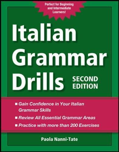 9780071789677: Italian Grammar Drills
