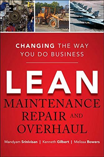 9780071789943: Lean Maintenance Repair and Overhaul