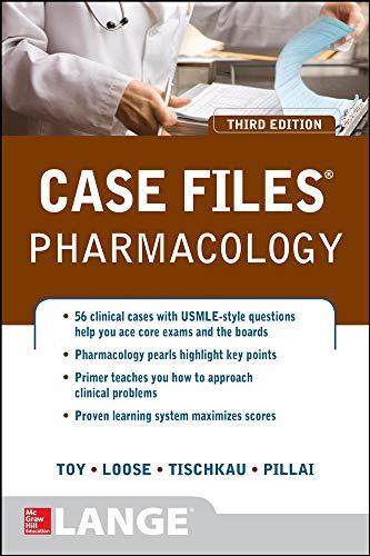 9780071790239: Case Files Pharmacology, Third Edition (LANGE Case Files)