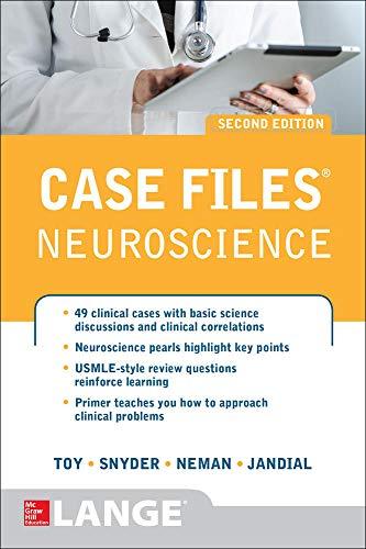 9780071790253: Case Files Neuroscience 2/E (Lange Case Files)